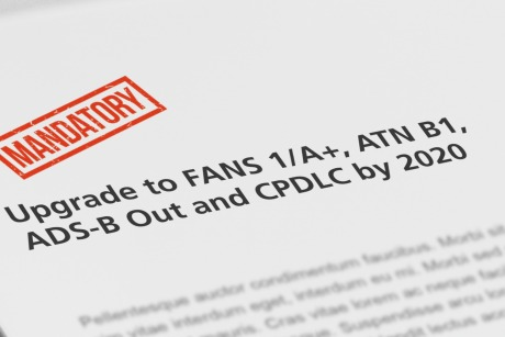 FANS 1/A+ ADS-B Out and CPDLC